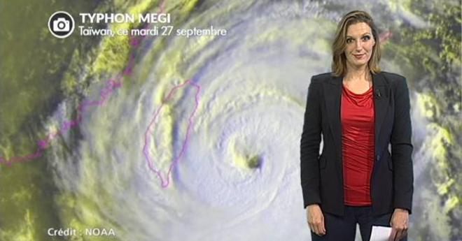 Ta�wan touch� par le typhon Megi