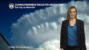Argentine : un nuage en forme d'explosion...
