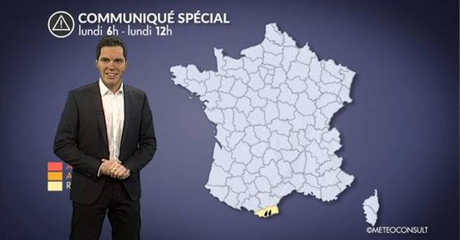 Alerte aux pluies sur les Pyrénées-Orientales
