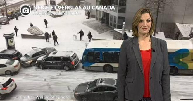 Neige au Canada, USA, Russie et Europe de l'est