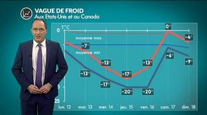 Météo Etats-Unis et Canada : le froid s'installe...
