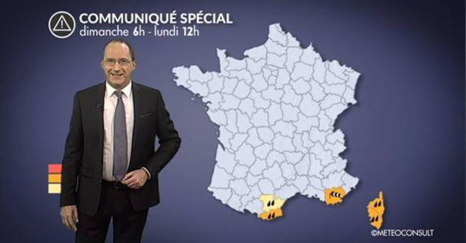 Alerte météo : vents forts, très fortes pluies et neige en Méditerranée