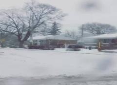 Neige Montréal Il neige