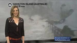 Australie : des vents à 263 km/h avec le...