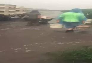 Pluie Brisbane Cyclone debbie