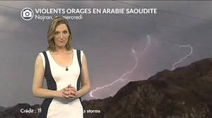 Vidéo Arabie Saoudite : violents orages, crues de grêle et tornade