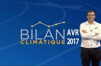 Vidéo Bilan climatique d'avril 2017