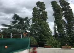 Tempête Cholet 49300 49300 cholet vidéo tempête de Daniel Vandergeenst