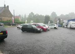 Mons-en-Laonnois 02000 Gros orage, pluies très importantes