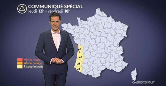 Vidéo Communiqué Spécial fortes pluies