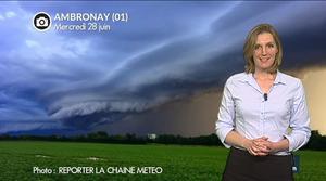Vidéo Impressionnants orages ce mercredi