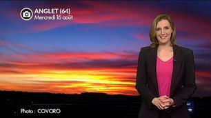 Vidéo Superbes levers et couchers de soleil ces derniers jours