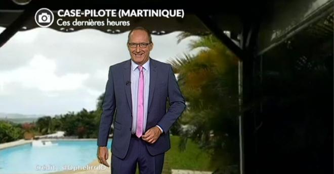 Vidéo Tempête tropicale en Martinique et à la Barbade