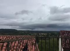 Tempête Aubeterre-sur-Dronne 16390 Tornade