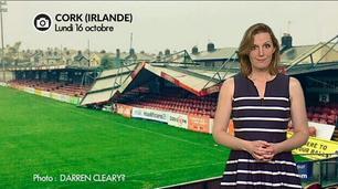 Vidéo Ex-ouragan Ophelia en Irlande : les images