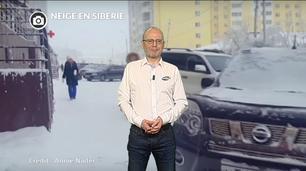 Vidéo Les neiges de Sibérie en extension