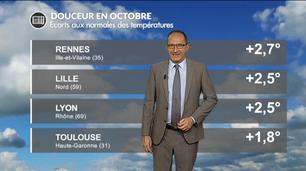 Vidéo Premier bilan météo d'octobre 2017 : la douceur, encore et toujours !