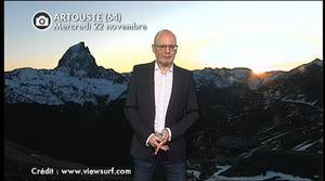 Vidéo Retour de la neige en montagne ce week-end