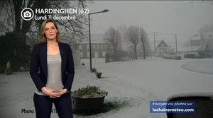 Vidéo Tempête de neige dans le Nord et la Belgique