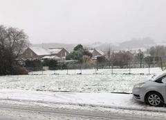 Neige Marles-les-Mines 62540 Tempête de neige