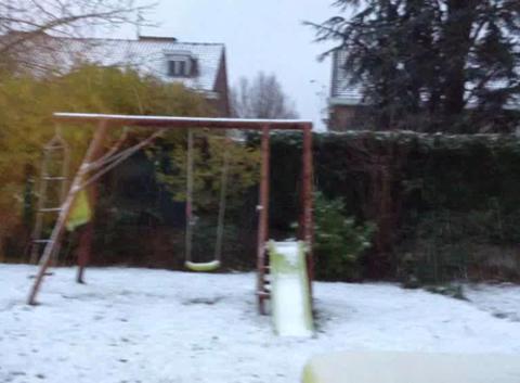 Neige à Tourcoing