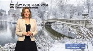 Vidéo New York sous la neige