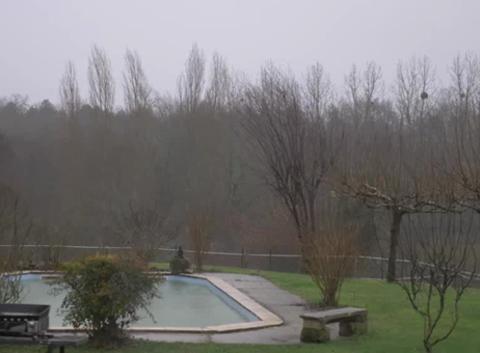 Tempête sur Vayres en Gironde
