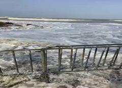 Ver-sur-Mer 14114 Vague de submersion en Normandie