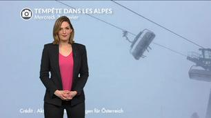 Vidéo Tempête dans les Alpes : des images incroyables