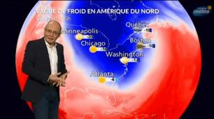 Vidéo vague de froid USA / Canada : évolution