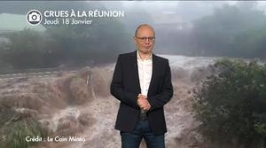 Vidéo Inondations à La Réunion