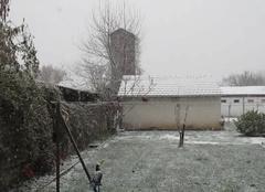 Maurs 15600 La neige tombe à Maurs (15)