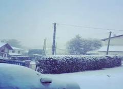 Neige Arcangues 64200 Il neige à Arcangues