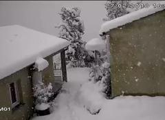Isolaccio-di-Fiumorbo 20243 Chute de neige haute corse 45cm