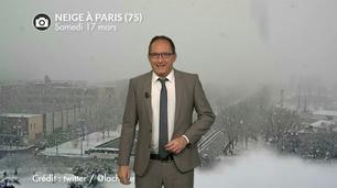 Vidéo Neige en région parisienne ce samedi : jusqu'à 28 cm !