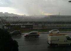 Lyon 69009 Chute de grêle hier en fin de journée dans le 9eme arrondissement de lyon
