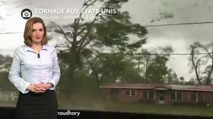Vidéo USA : 36 tornades et une tempête de neige