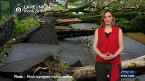 Vidéo La Réunion : tempête tropicale Fakir