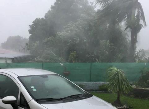 FAKIR tempête tropical Forte, ile de la réunion