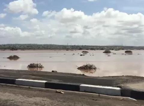 Inondation à djibouti