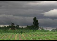 Vayres 33870 Nuages juste avant l'orage