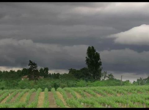 Nuages juste avant l'orage