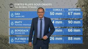 Vidéo Bilan des orages de samedi : jusqu'à trois semaines de pluies en quelques heures