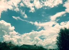 La Varenne 49270 Naissance d'un orage en bords de Loire