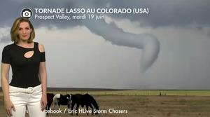 Vidéo Extraordinaire tornade au Colorado