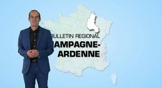 Vidéo Bulletin régional Champagne-Ardenne