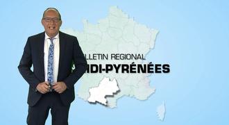 Vidéo Bulletin régional Midi-Pyrénées