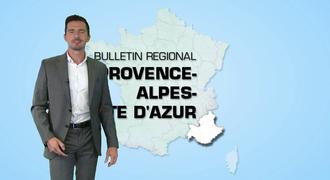 Vidéo Bulletin régional Provence-Alpes-Cote-d'Azur