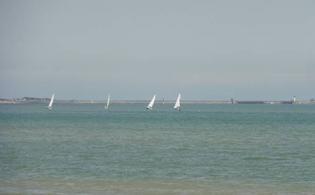 Mer Dunkerque 59140 Mer du Nord - Dunkerque-Malo les Bains- ce matin 22/06
