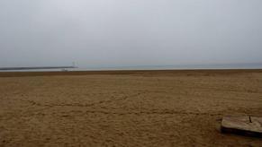 Brouillard sur les cotes languedociennes.